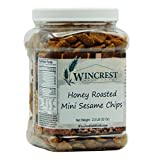 honey roasted crunchy snack mix - Honey Roasted Sesame Chips - 2 Lb Tub