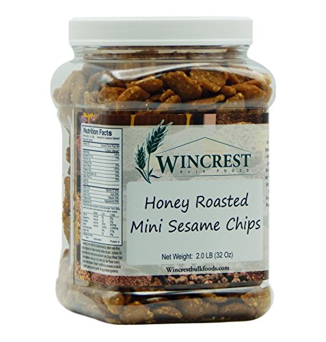 Honey Roasted Sesame Chips - 2 Lb Tub