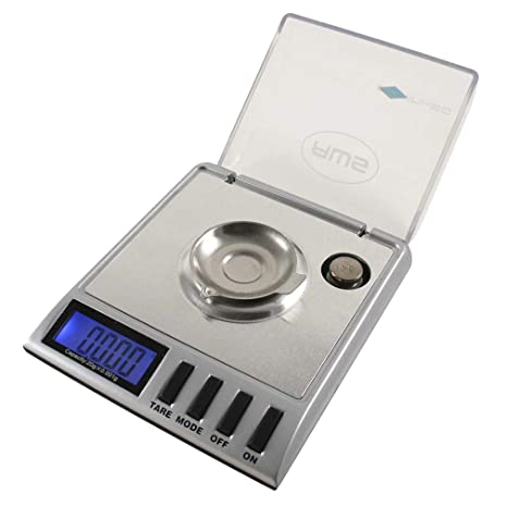 American Weigh Scales Gemini Series Precision Digital Milligram Scale, Silver 20G X 0.001G (GEMINI-20)