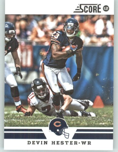 Devin Hester Nfl (2012 Score Football Card #62 Devin Hester - Chicago Bears (NFL Trading Card))