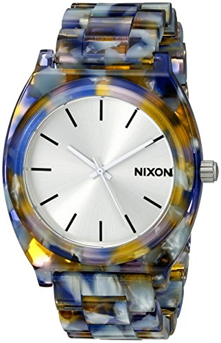 nixon-womens-a3271116-time-teller-acetate-analog-display-analog-quartz-watch