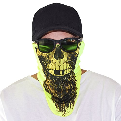 Santa Playa Maskies by, Fun Breathable Face Mask
