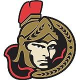"""Ottawa Senators NHL Hockey Car Bumper Sticker Decal 5"""" x 5"""""""