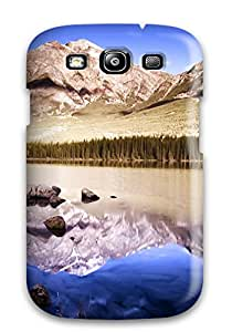 High Quality Reflective Mountains Case For Galaxy S3 / Perfect Case