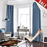 Best Home Fashion Blackout Curtains 95s - jinchan Half Blackout Velvet Curtains for Bedroom, Thermal Review