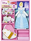 Cinderella Wooden Magnetic Dress-Up Play Set