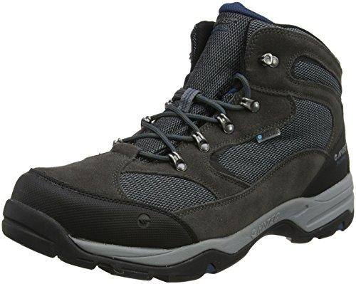 Hi-Tec Men Storm Waterproof High Rise Hiking Boots, Grey...
