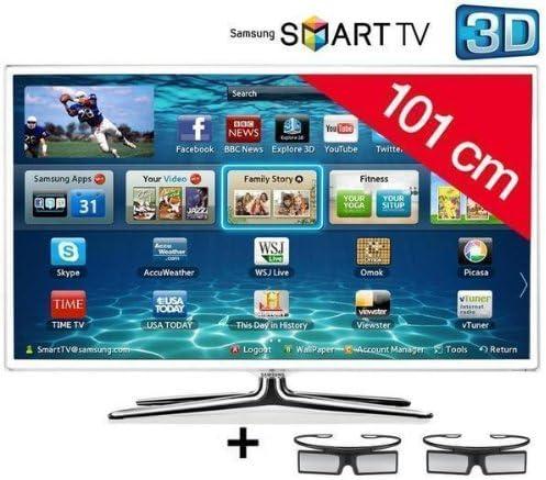Samsung televisor LED Smart TV 3d UE40ES6710 HD TV 1080p, 40 ...
