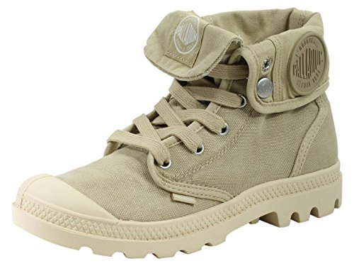 Palladium Women's Baggy High-Top Sneakers, Beige (Sahara/Ecru), 8 UK by Palladium