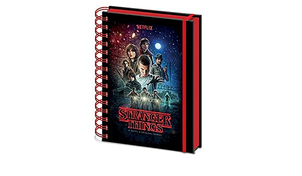 Amazon.com: Official Licensed Stranger Things - Notebook ...