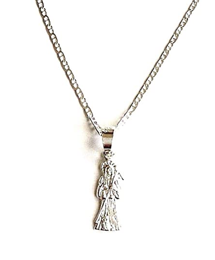 fa70b6581 925 Sterling Silver Grim Reaper Necklace 20