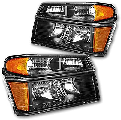 NEW LEFT HALOGEN HEAD LAMP ASSEMBLY FOR 2004-2012 CHEVROLET COLORADO GM2502234