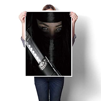 Amazon.com: SCOCICI1588 Canvas Painting Sticker, Girl or ...