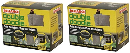 Reliance Double Doodie Toilet Waste Bag (12 Waste Bags)