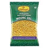 Haldiram Indian Snacks Moong Dal All Time Salted Snack of Fried Mung Lentils 150g (5.2 Oz)