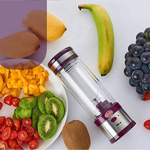 Licuadora Portátil Juicer Cup Juice Juicer Fruit Extractor Machine Home Outdoor Usb Recargable 4 Cuchillas 280 Ml, Ibuprofen
