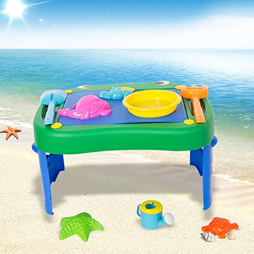 COLORTREE Sand Beach Toys Play Set for Kids&Todder by COLORTREE