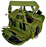 Explorer Police Duty Range Bags Handguns Tactical Gear Shooting Accessories Large 1200 D Gun Bag Waterproof Magazine Holders Padded Pistol Cases