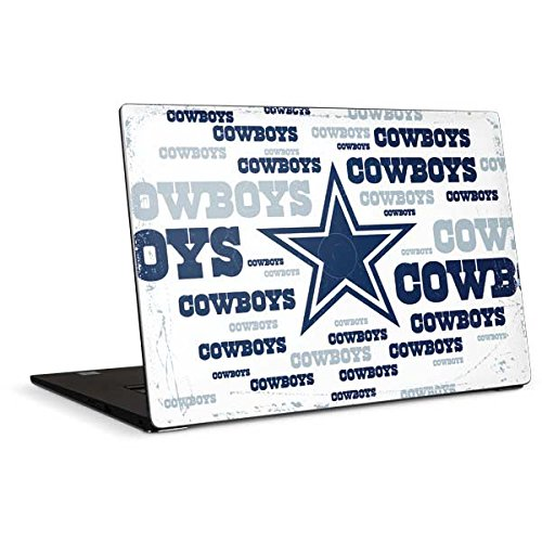 Skinit Dallas Cowboys Blue Blast Dell XPS 15in (2017) Skin - Officially Licensed NFL Laptop Decal - Ultra Thin, Lightweight Vinyl Decal Protection