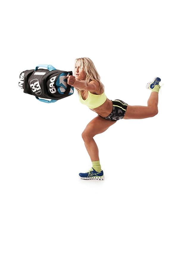 Amazon.com : Escape Fitness USA Sandbag Black, 10kg/22lbs : Sports & Outdoors
