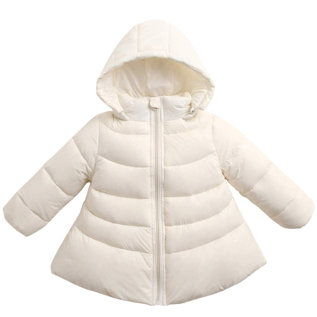 Kids Hoodie Down Jacket Baby Girls Winter Puffer Coat Lightweight Padded Jacket Vine Trading Co. Ltd K180823MF007V