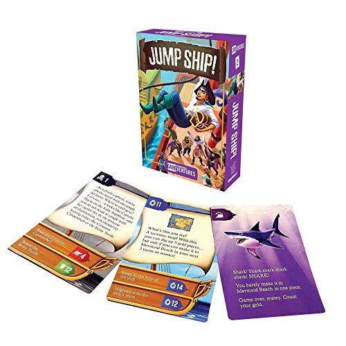 Cardventures - Jump Ship Card Game