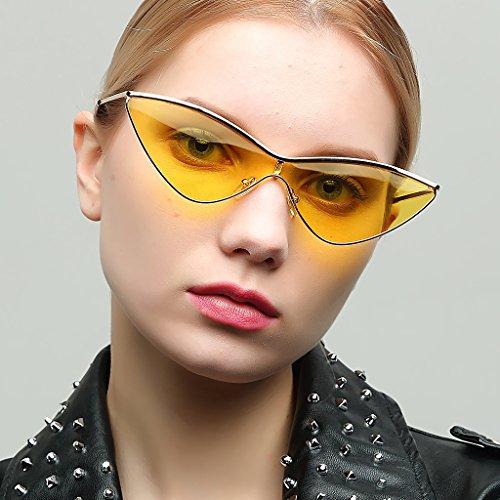 bronzage Décontracté Mode Soleil léger Rétro Style En Lunette Triangle Eyewear Unisexe Homyl De 6PwqSAz