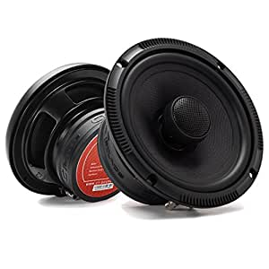 CT Sounds Meso 6.5 Inch 2 Way Silk Dome Full Range Coax Coaxial Speakers (Pair)