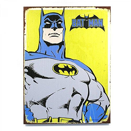 Vintage Parts 323938 Retro Batman Wooden Sign, 1 Pack at Gotham City Store
