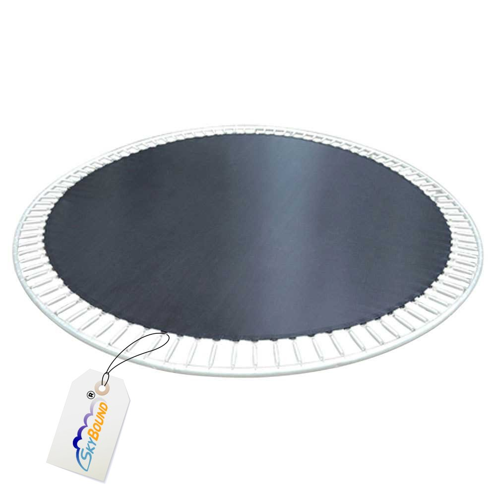 SkyBound 10 ft. 5 in. (125 in.) Round Trampoline Mat with 72 V-Rings, Fits Frames That are 12 ft., That use Springs That are 5.5''. (Fits Brands Bravo, Airzone, Variflex) by SkyBound