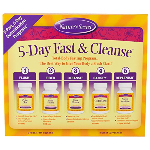 Nature's Secret 5-Day Fast & Cleanse, 5-Part, 5-Day Progr...