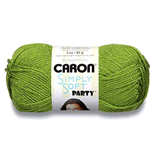 Caron Simply Soft Party Yarn Spring Sparkle