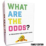 What are The Odds? Family Edition - Best Card Game for Family, Friends, and Large Parties. Ages 7 Years and Up. Fun at Birthday Parties and Events. 2-20 Players or More! Quick & Fast Play!