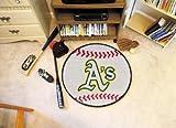 MLB - Oakland Athletics Baseball Rug