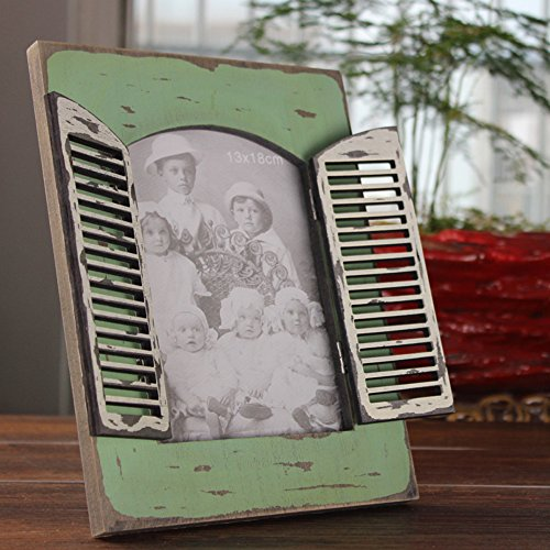 ChezMax Elegant Wall Hanger Home Decor Tabletop Living Room Portrait Frame Rectangle Open Window 5