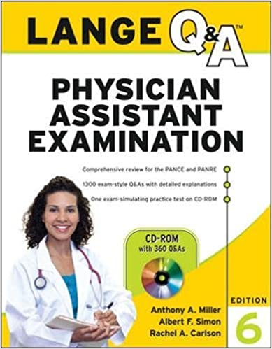 Lange qa physician assistant examination sixth edition lange qa physician assistant examination sixth edition 6th edition fandeluxe Choice Image
