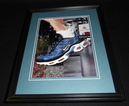 2000 Nike / Foot Locker 11x14 Framed ORIGINAL Vintage Advertisement ()