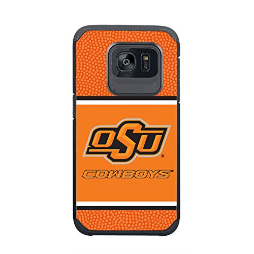 Oklahoma State Football - GameWear NCAA Oklahoma State Cowboys True Grip Football Pebble Grain Feel Samsung Galaxy S7 Case