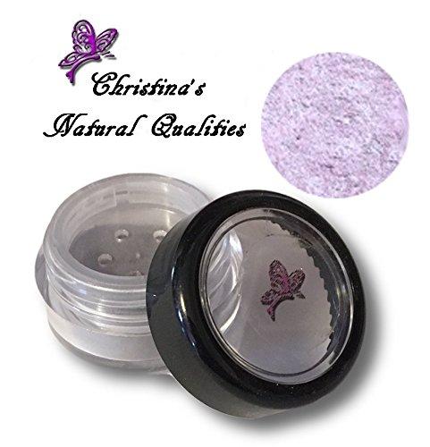 - All Natural Mineral Powder Shimmer Lavender Eye Color (Eyeshadow) - Lavender Ice