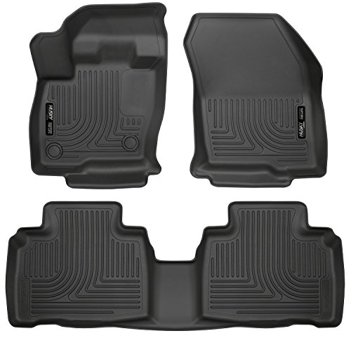 Husky Liners Front & 2nd Seat Floor Liners Fits 15-19 - Edge Ford
