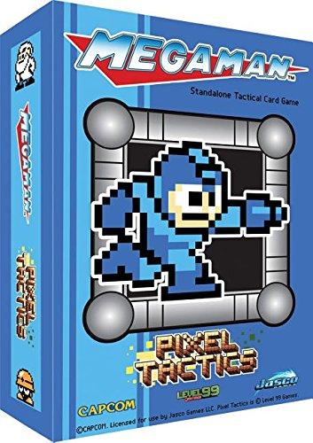 Jasco Pixel Tactics Mega Man Box Card Game, Blue