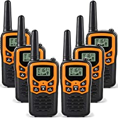 Technical Specification:  Frequency: 462.5625~467.7125 MHz Channel Memory: 22 Preset Channels Privacy Codes: 99 set of CTCSS tunes Transmit Power: 2 Watt Modulation Type: FM-F3E Channel Spacing: 12.5 kHZ (Narrowband) Transmit Range: 0.6~2 Mil...