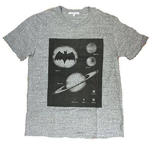 (Mens Junk Food Batman Planets Tri Blend Tee Shirt)