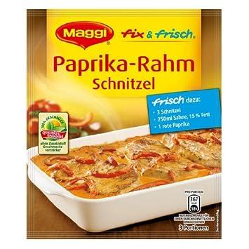 Amazon.com : MAGGI fix & fresh creamy schnitzel with bellpeppers ... | {Maggi fix 76}