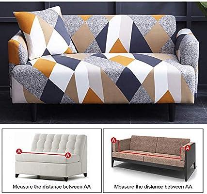 Aifusi Funda de sofá elástica Estampada para sofás y ...