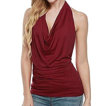 Amazon.com   Onefa Womens Tops Women Sexy Letter Print Overlap Cross Sling Crop  Tank Top Vest Beige   Beauty