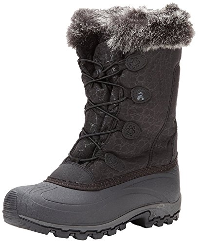 Kamik Womens Momentum Snow Boot Black 8 M Us