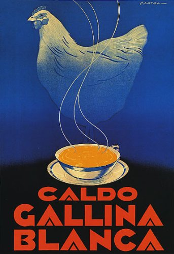 caldo-gallina-blanca-white-chicken-soup-comfort-food-spanish-spain-16-x-24-image-size-vintage-poster