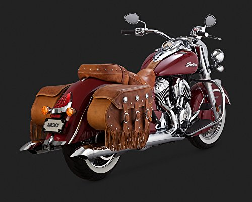 Vance & Hines Turndown Chrome Slip Ons (18533) for 2014-2016 Indian Chief