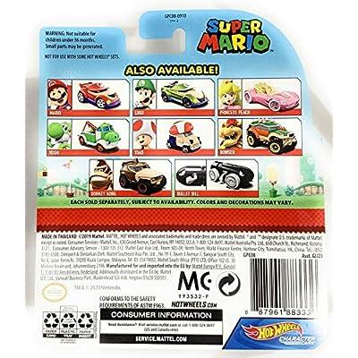 Hot Wheels Gaming Character Car Super Mario 2020 Series-Donkey Kong Vehicle(7/8): Toys & Games